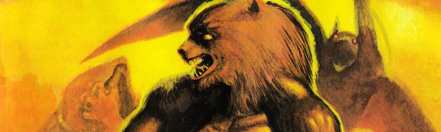 3 D Altered Beast Banner
