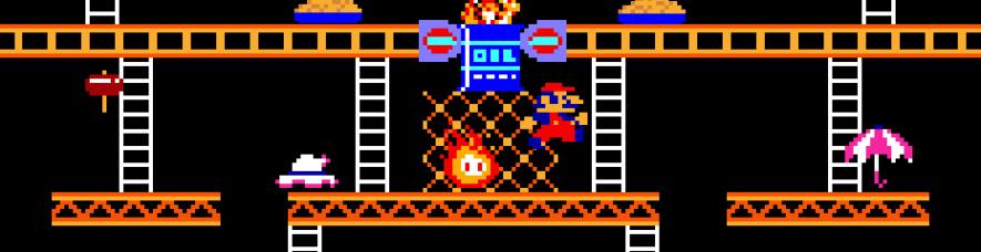 Donkey Kong Arcade Banner