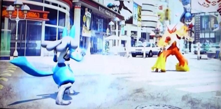 Pokken Fighters (Wii U)