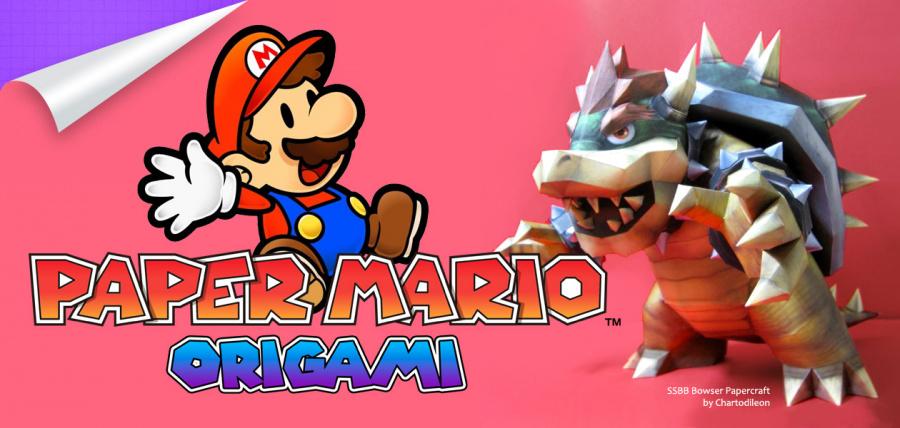 Paper Mario: Origami (Wii U eShop)