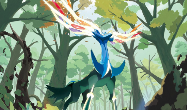 Xerneas Pokemon X- and Y 1024 X768