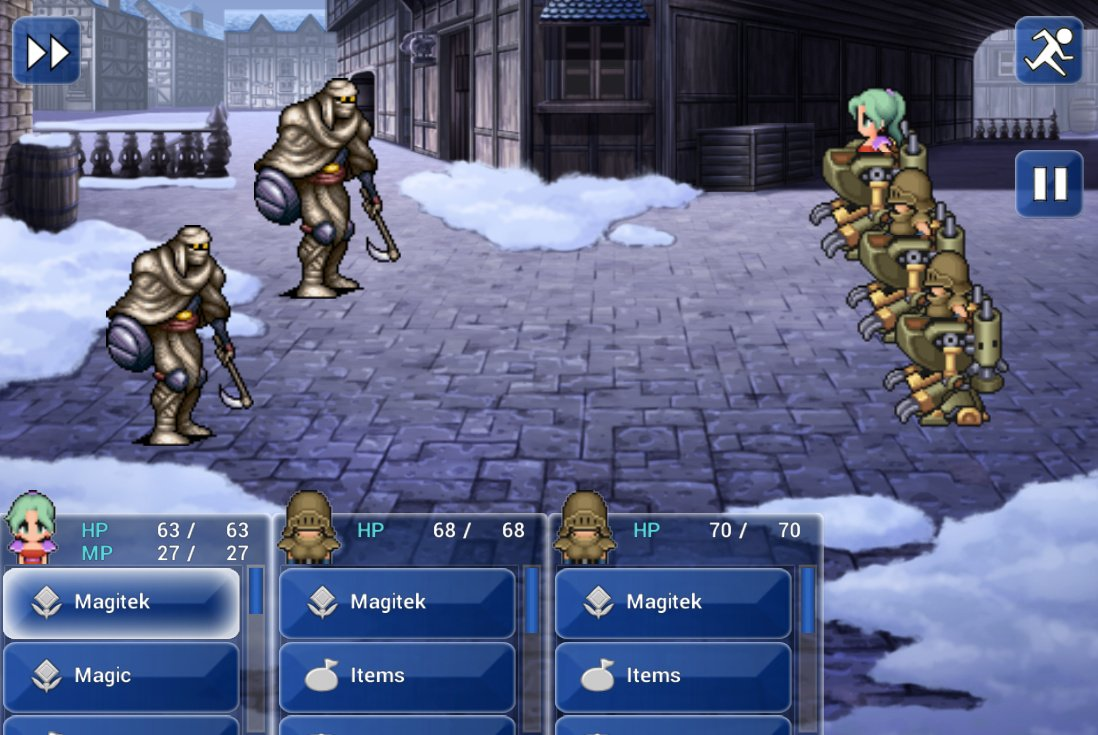 Final Fantasy Vi On Android Is Pricey And Looks Rather Peculiar
