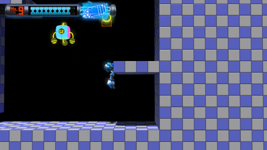 Mighty No. 9 would be banned from Smash Bros. Tournaments for ledge hogging
