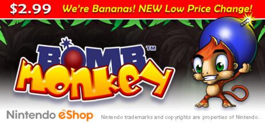 Bomb Monkey Price Drop