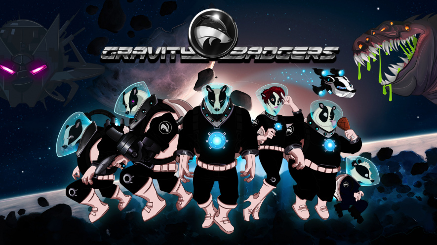 Gravity Badger Splash Screen