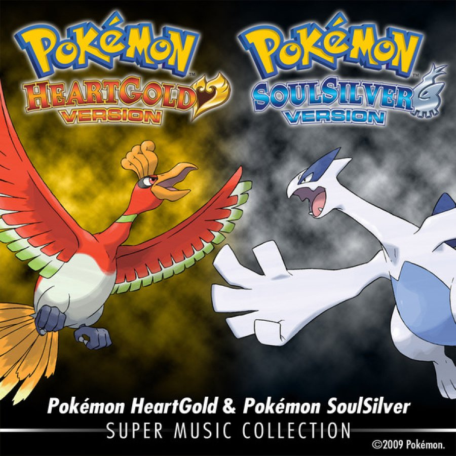 Album Artwork for Pokemon HeartGold and Pokemon SoulSilver Super Music Collection