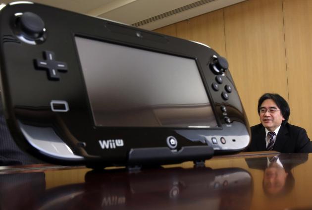 Wii U Iwata