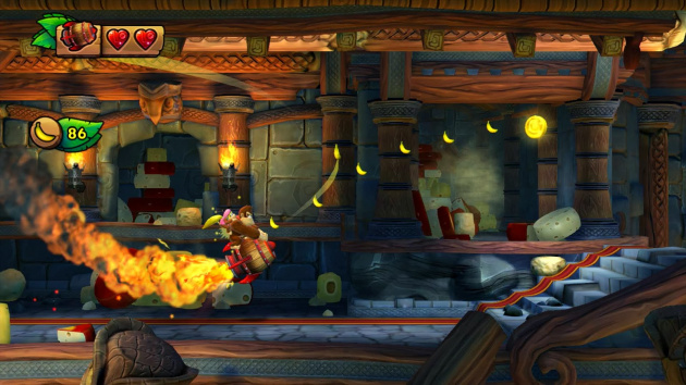 The forthcoming Donkey Kong Country: Tropical Freeze turns off the GamePad screen during play
