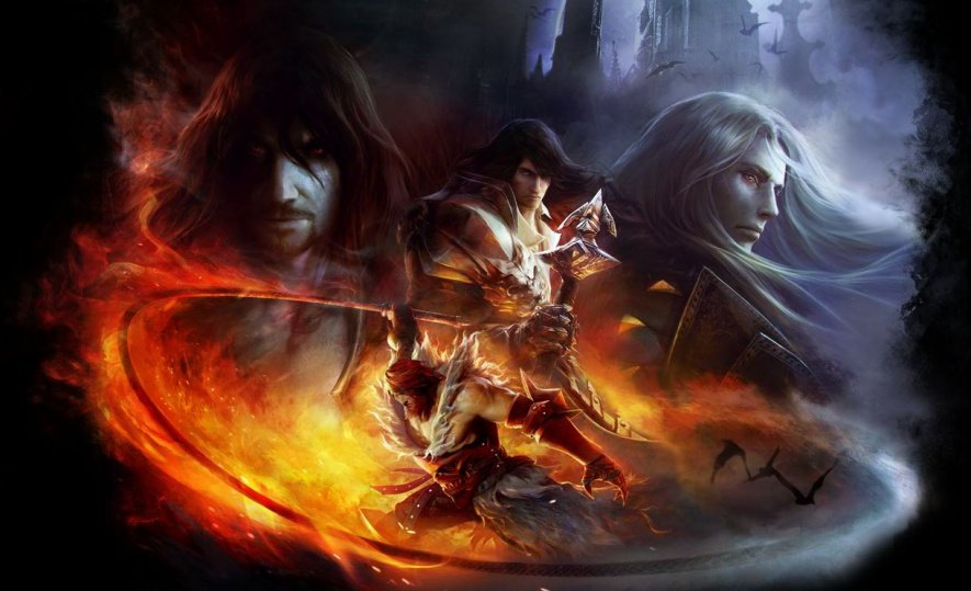 Castlevania Lords of Shadow Mirror of Fate Artwork