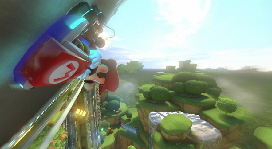 Mario Kart 8 Screen