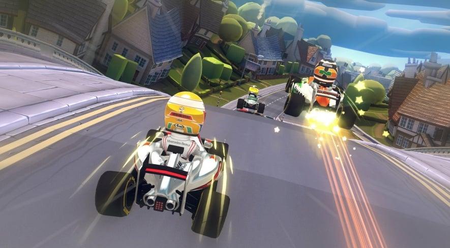 F1 Racestars Screen EDIT