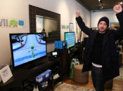 When Publicity Pictures Aren't Worth It - Aaron Paul With Wii Fit U