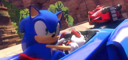 The Japanese release of Sonic & All-Stars Racing Transformed got stuck in traffic for a while