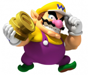 I'm-a Wario! I'm gonna win...your heart!