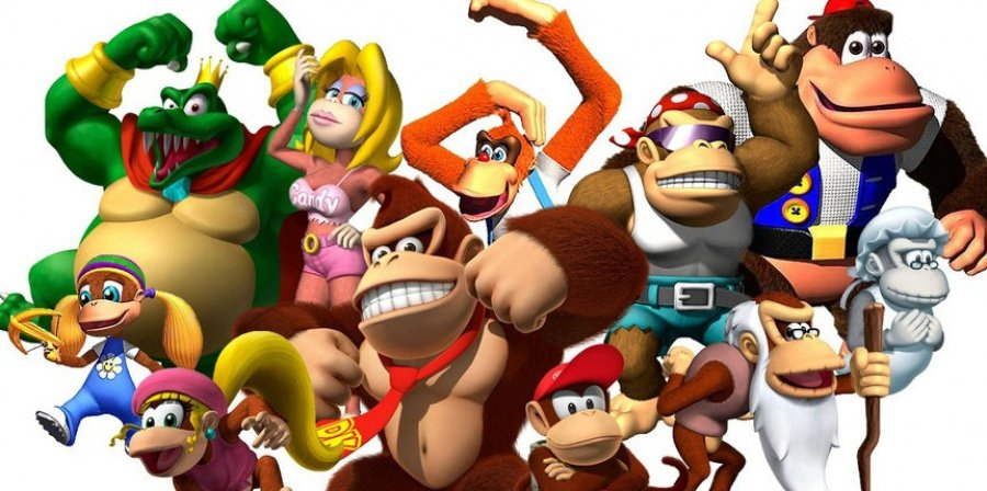 The family (and King K Rool)