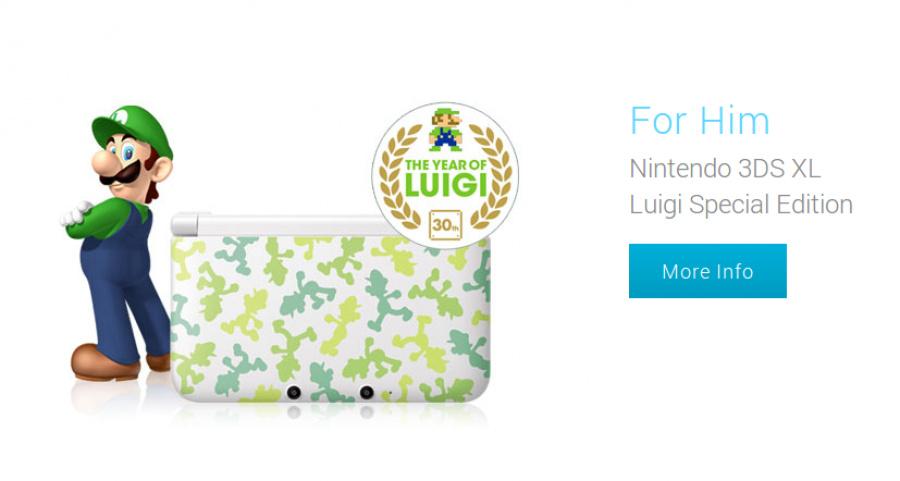 3 DS Valentine Luigi