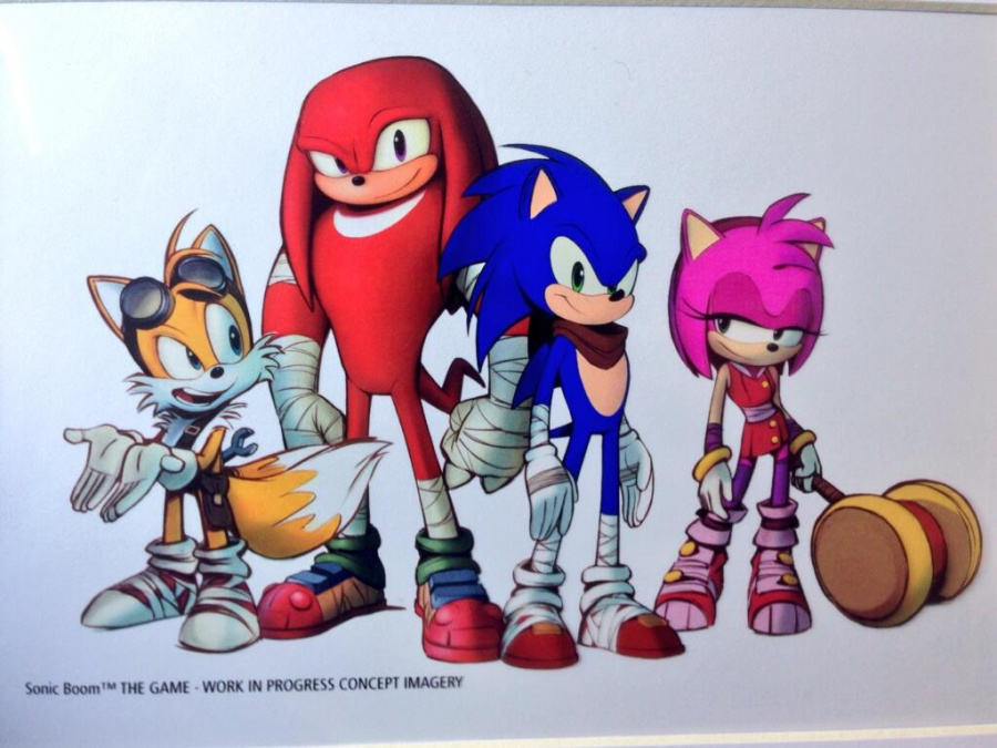 Sonic Boom Game