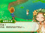 The Harvest Goddess Appears In Harvest Moon: Connect To A New World