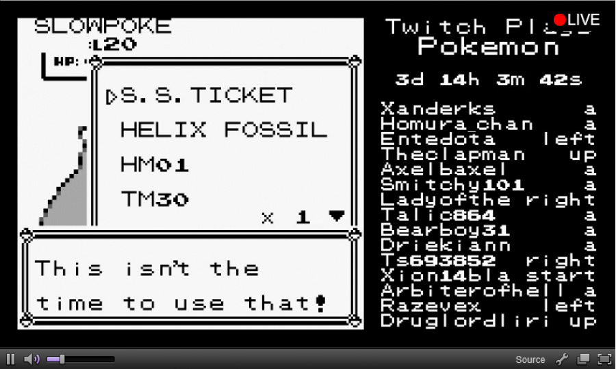 """This sums up TwitchPlaysPokemon in one picture"""