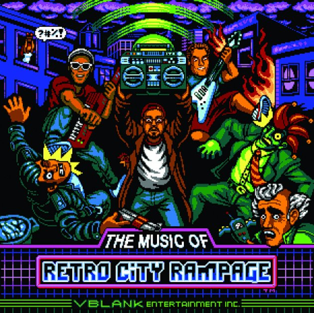Retro City Rampage Music