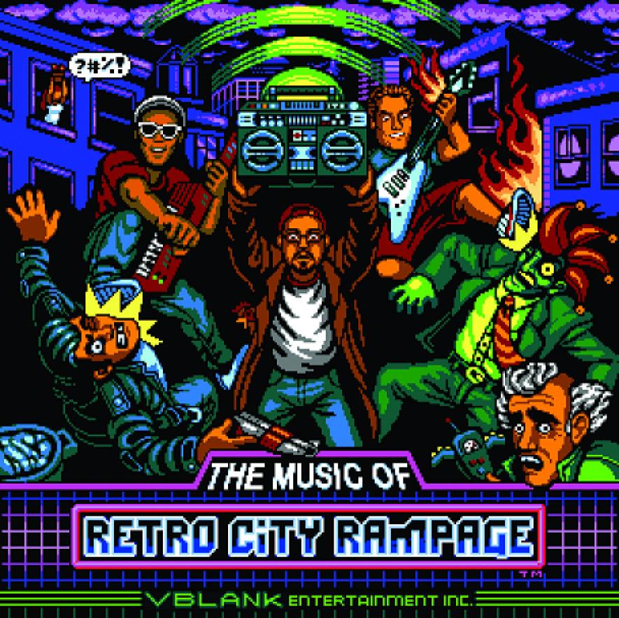 Retro City Rampage Music