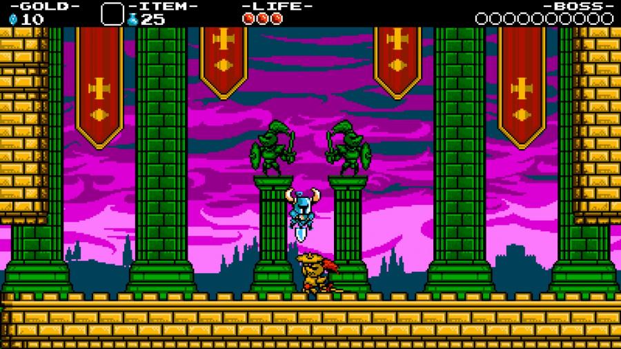 Shovel Knight Screen