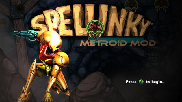 Spelunky Metroid Mod
