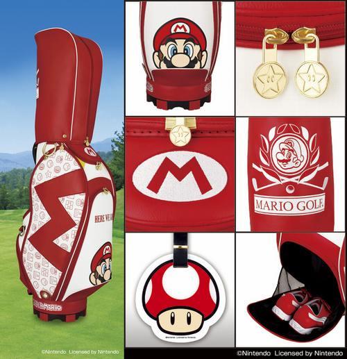 Mario Golf Bag 1