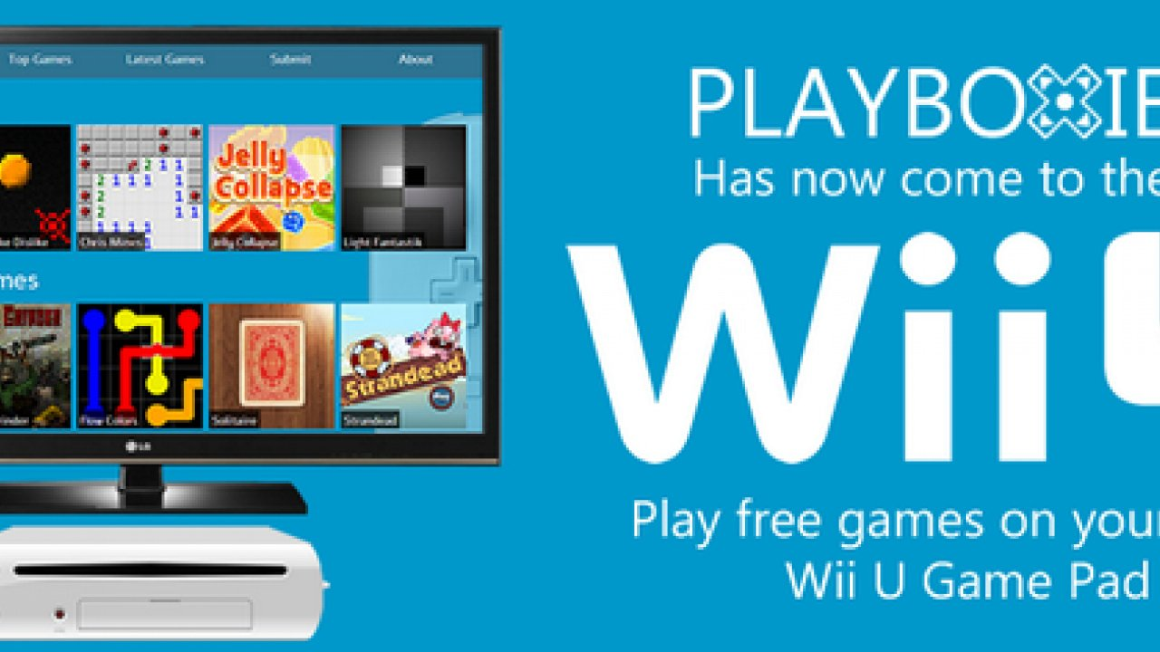 You Can Now Play Free HTML5 Games on the Wii U Web Browser