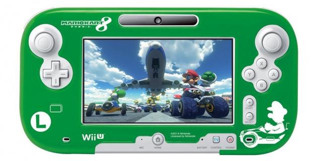 Luigi Game Pad Front