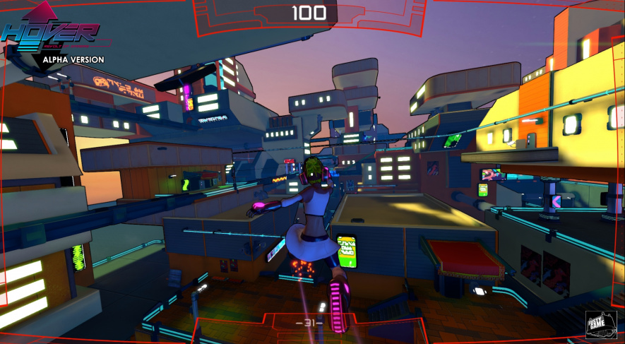 Hover: Revolt of Gamers alpha footage