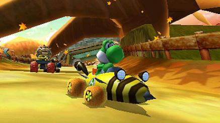 Yoshi - Mario Kart 7