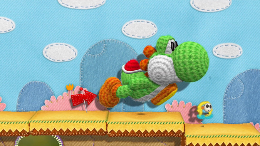 Yarn Yoshi (Wii U)