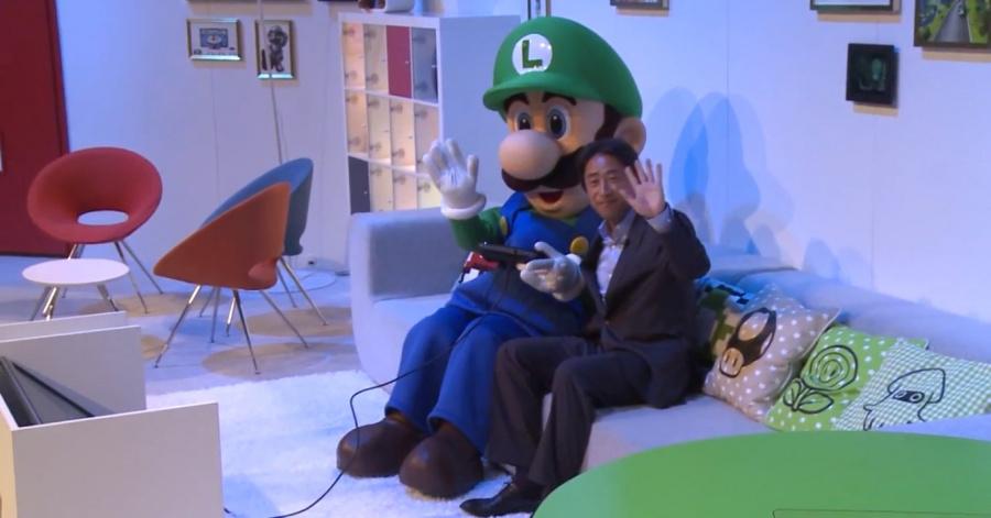 Shibata Luigi Gamescom