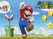 Super Mario McDonald's Happy Meals Hit the Flagpole in the UK on 19th March