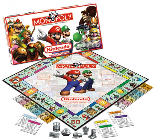 Monopoly and Nintendo have teamed up before