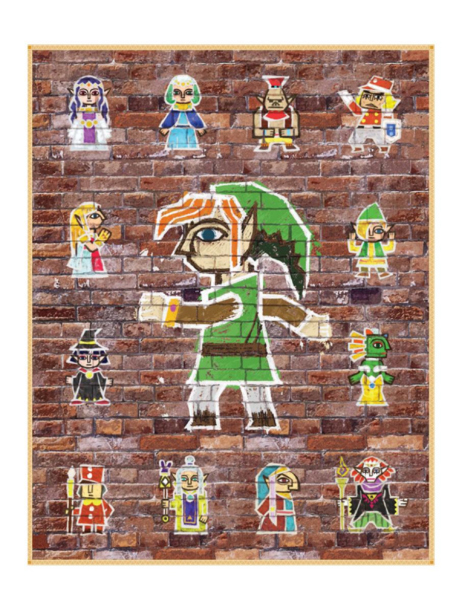 Zelda Albw Posters Big 3