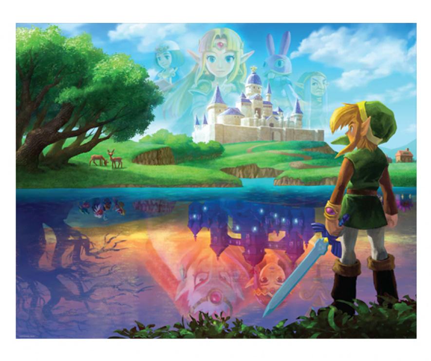 Zelda Albw Posters Big 4