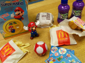 Watch Us Hungrily Unbox The McDonald's Super Mario Happy Meal