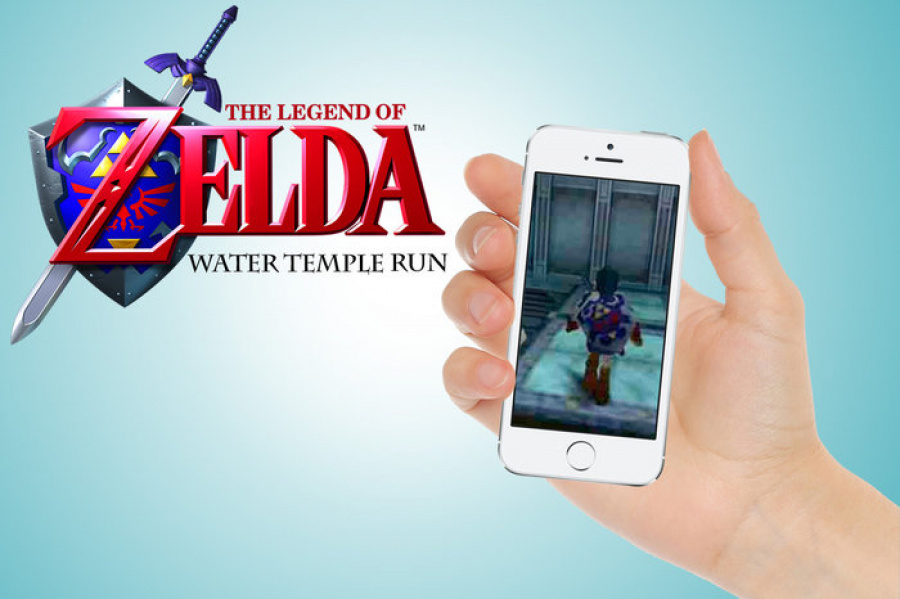 The Legend of Zelda Water Temple Run