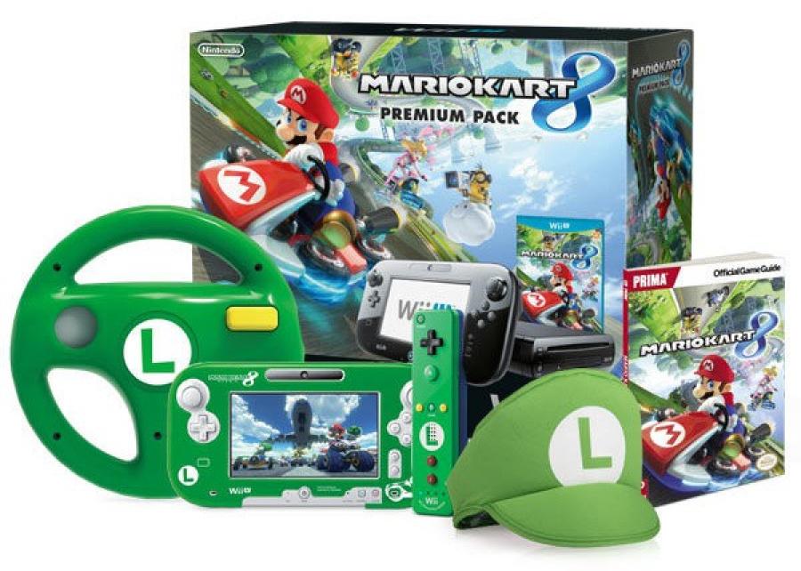 Luigi MK8 Bundle