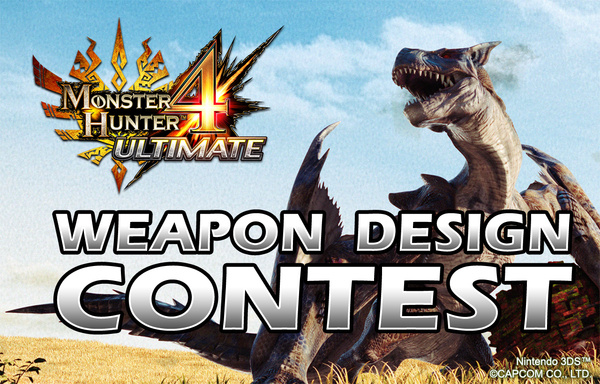 Capcom is holding a weapon design contest for monster