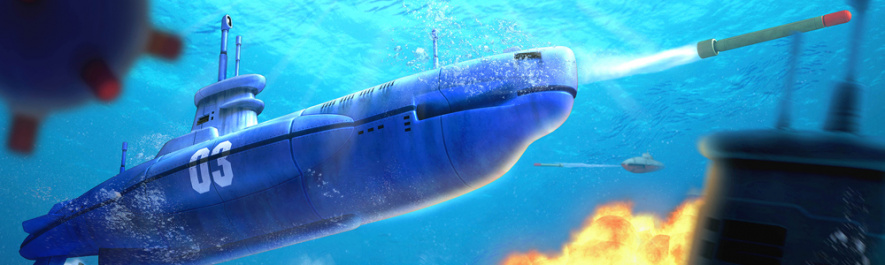 Steel Diver Sub Wars Banner