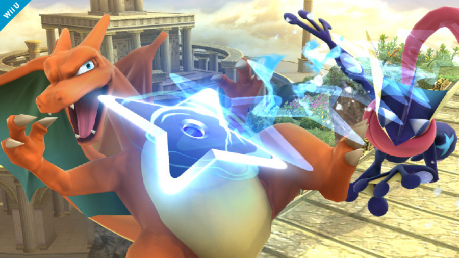 Greninja in Super Smash Bros. for Wii U & 3DS