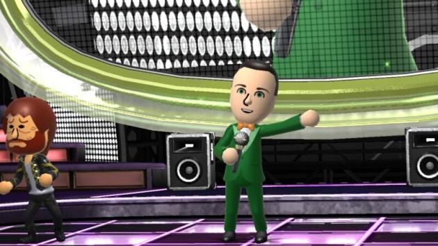 Wii Karaoke Screen NL