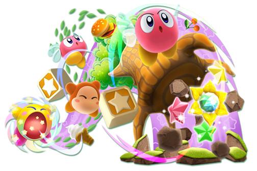 Kirby Deluxe Art