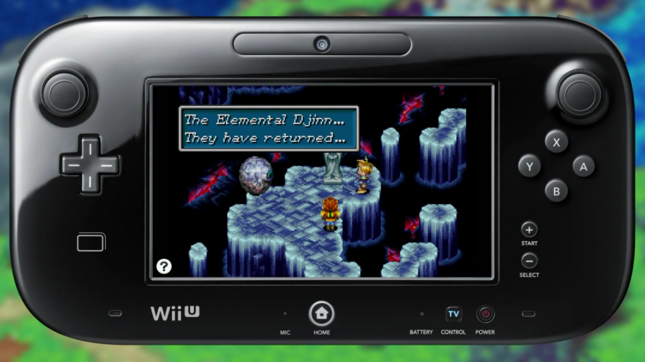 Nintendo shows off upcoming golden sun and f zero gba wii u virtual console releases nintendo life - Will wii u games play on wii console ...