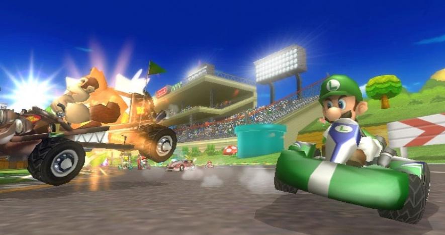 Mario Kart Wii Screen