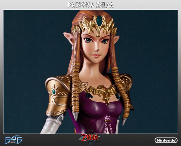 Zelda Figurine Front