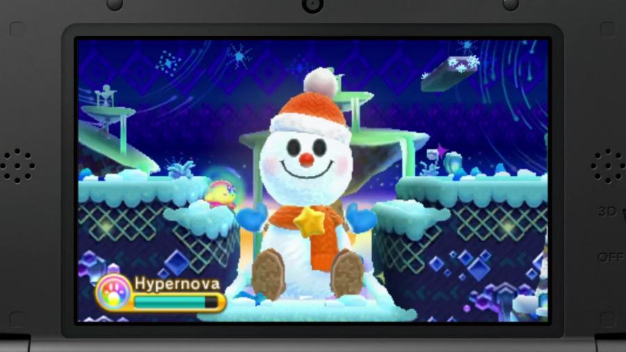 Kirby Snowman